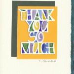 Cheryl Tasaka (thank you so much card)