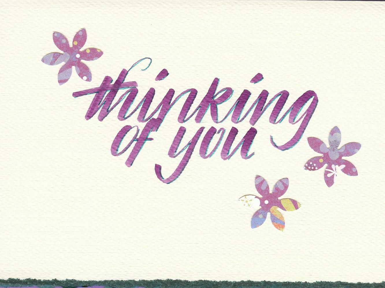 Violet Smythe (thinking of you card)