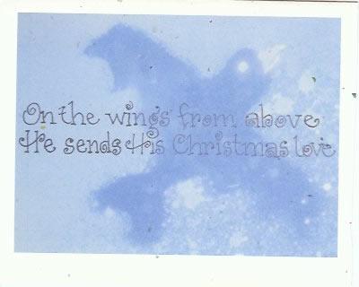 Louise Dudar - Christmas Card 2010