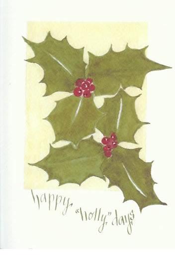 Eileen London - Christmas Card 2010
