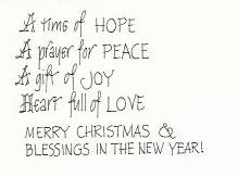 Lily Spaeth - Christmas Card 2010 (inside)